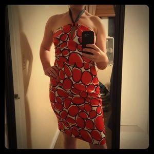Halter Dress in fun pattern